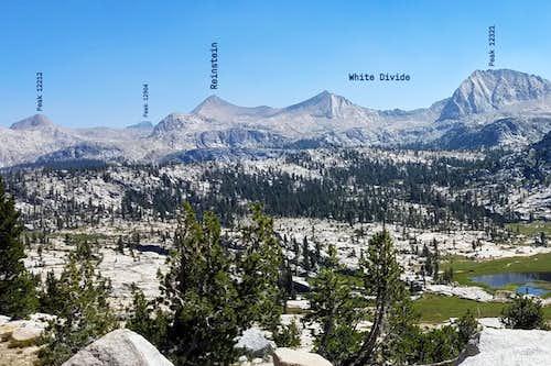 Mt Reinstein from Crown Basin
