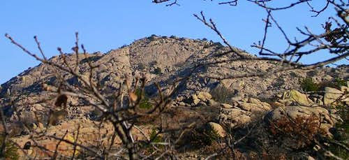 Granite Mountain from the...
