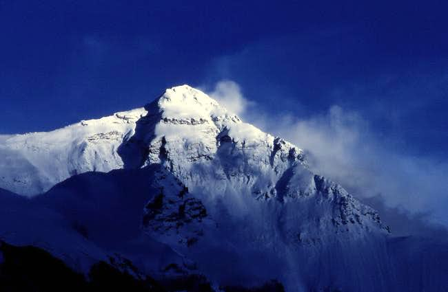 Everest 8848m North Face.