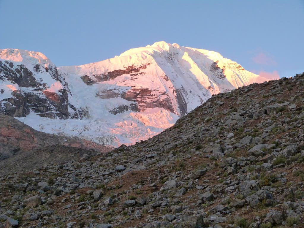 Alpenglow on Copa