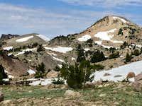 Day Hike/Climb over Lassen Pk., Eagle Pk. & Ski Heil Peak August 27, 2017
