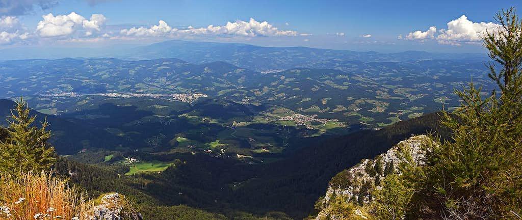 Urslja gora N panorama