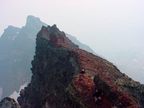 To reach the true summit,...