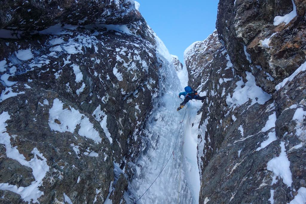 First Pitch of Threading The Needle