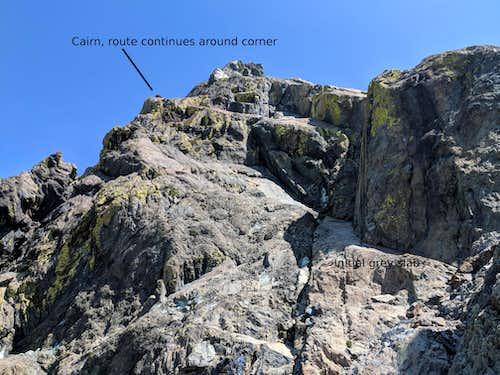 Ingalls Peak - Southwest Ramp