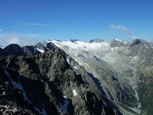 Pisgana glacier