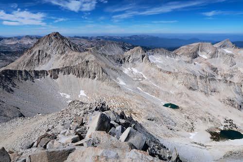 SW Ridge View of Hilgard