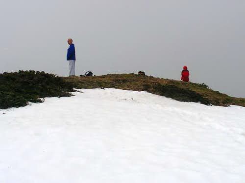 Don and Ardith on the summit....