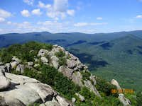 (Hawksbill Mt) and Robertson from Old Rag