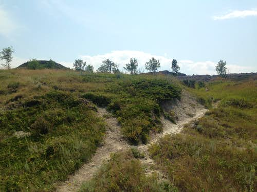 White Butte trail - Go right here