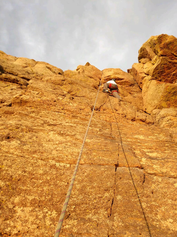 Climbing Duncan's Ridge