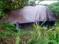 A 16x20 tarp will be the climber's High Camp