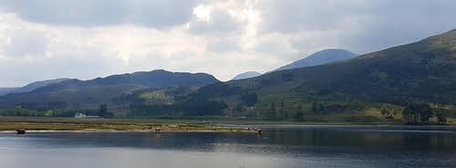 Loch Coullin and the Coullin Forest