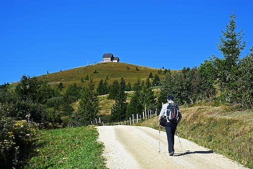Towards the Wolfsberger Huette