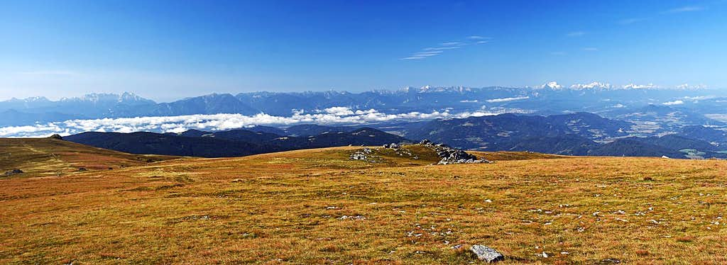 Southern Limestone Alps from the Ladinger Spitz
