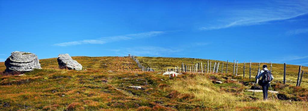 Ladinger Spitz ascent