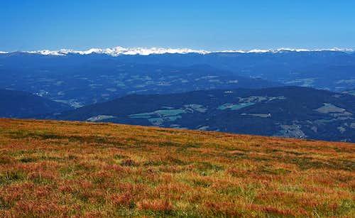 Sau Alps W panorama
