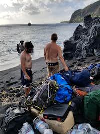 Getting ready to return to Saipan