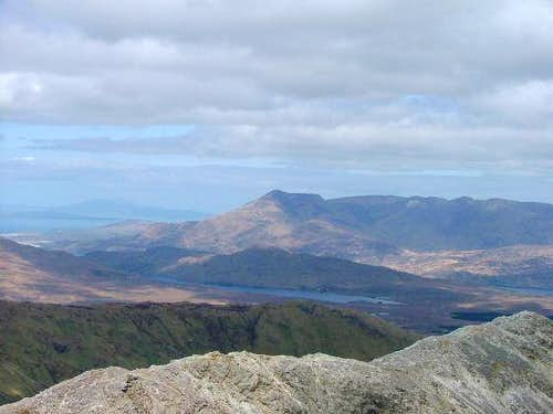 Connacht\'s highest mountain,...