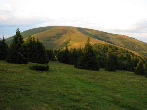 Ploská seen from SW