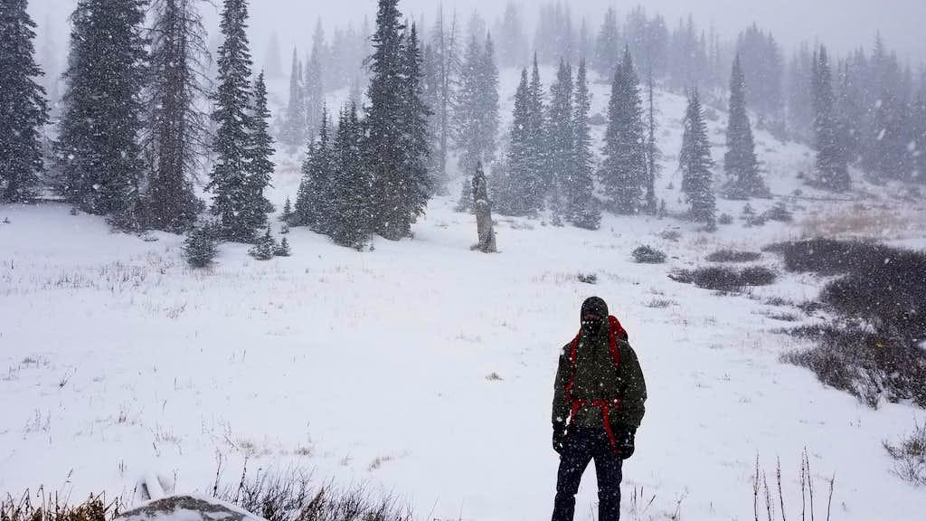 Marie West Lake Trailhead- Medicine Bow Peak access
