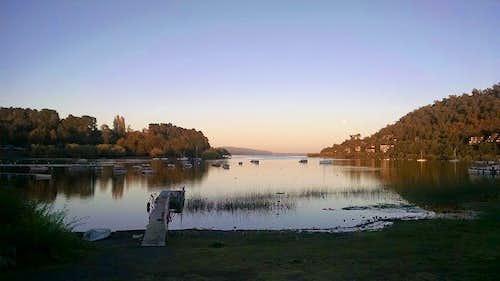 Evening on Lago Villarrica