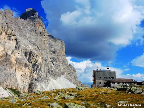 Tribulaun di Fleres and Tribulaunhütte