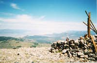 The summit of Bald Mountain....