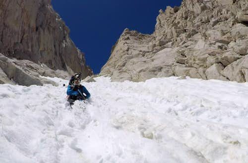 An attempt on Mt Whitney's mountaineers route