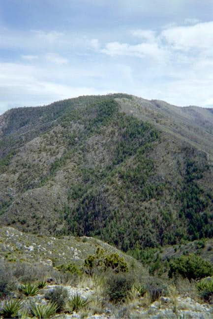 View of Mount Pratt summit,...