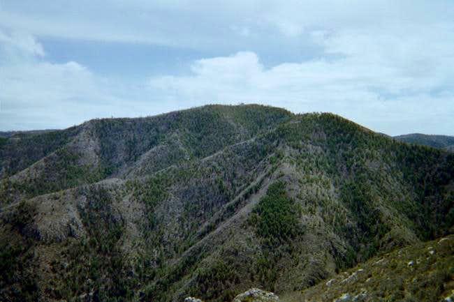 View of Mount Pratt summit,...