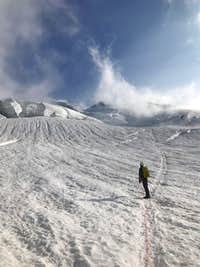 Easton Glacier of Mt. Baker