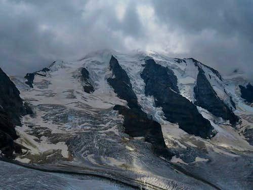 Piz Trovat and glaciers
