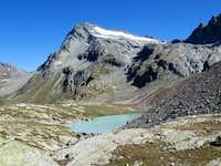 Mont Gelé from Regondi Gavazzi Bivouac