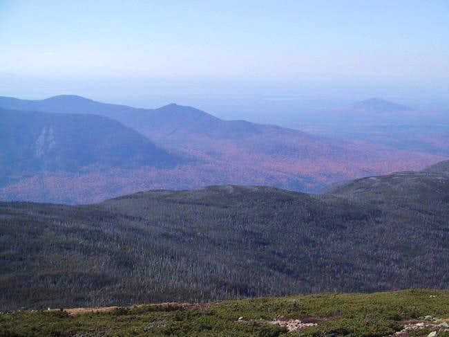 summit view northward from...