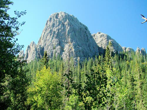 Little Devils Tower View from Trail 9