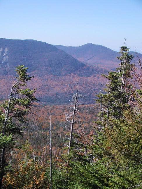 View toward Mt Veto from the...