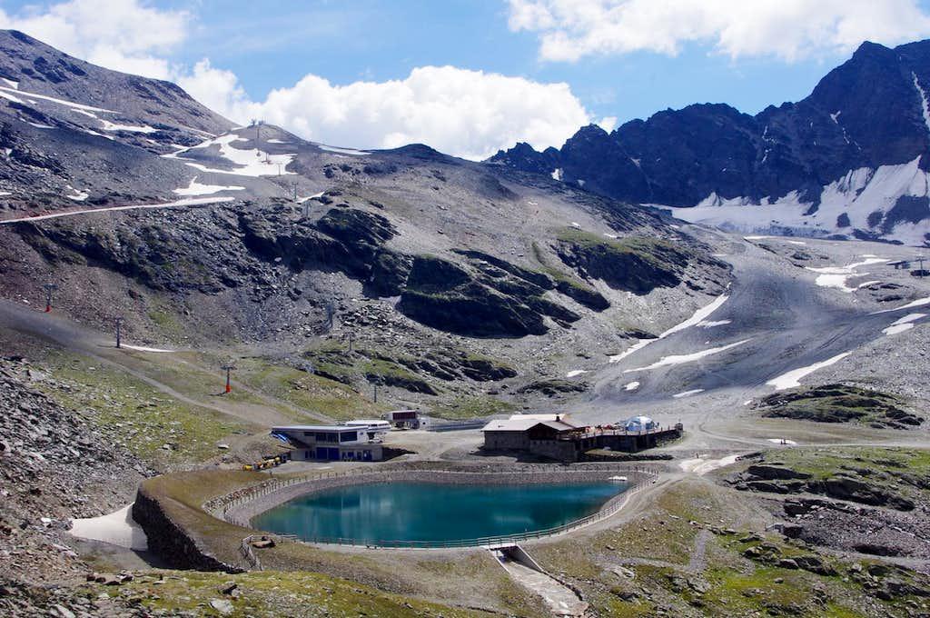 Madriccio Hut/Madrisch Hütte 2824m