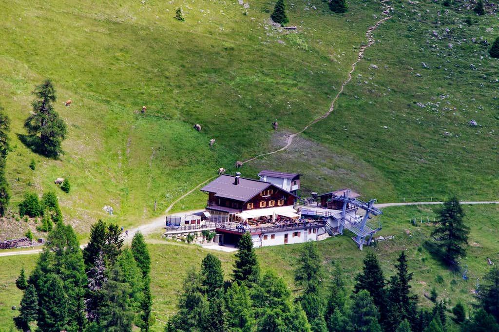 Rifugio Forcola / Furkelhütte 2153 m