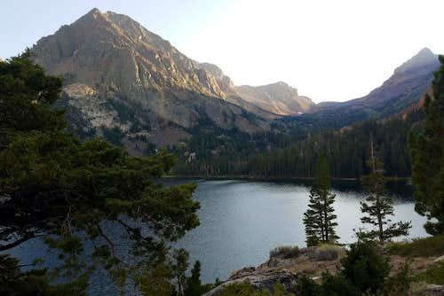 Gabbro Peak above Green Lake