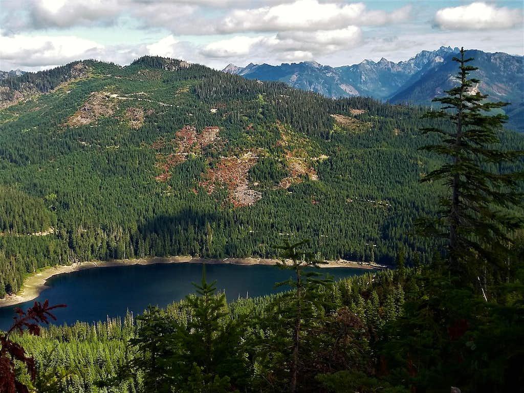 Classic Lost Lake view on Loser Ridge