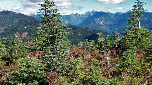 True summit views from Loser Ridge