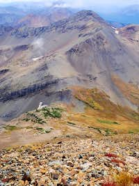 Purple Mountain from 2000 ft SE of Treasury Mountain's summit