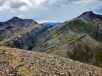 Yule Pass from Cinnamon Mountain