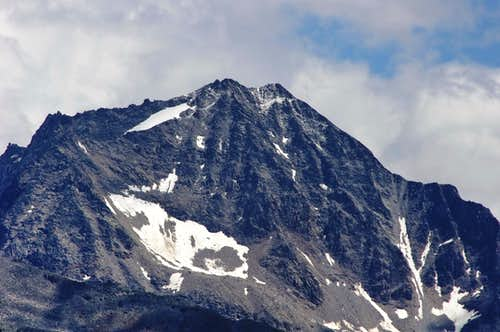 View from North of Cima Vertana/Vertainspitze