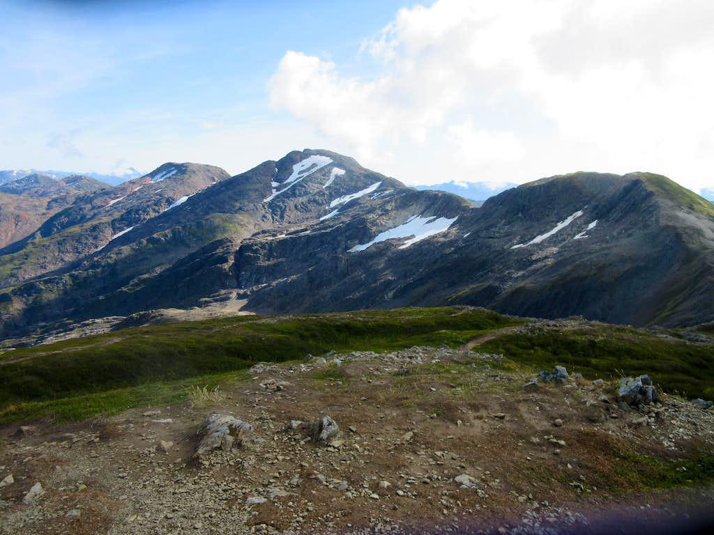 Mt Roberts (r) Sheep Mtn (l)