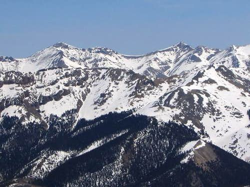Stewart Peak and Baldy Alto...