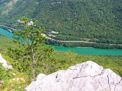 View of Isonzo from Monte Sabotino