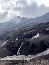 Waterfalls on the way to Cerro El Plomo