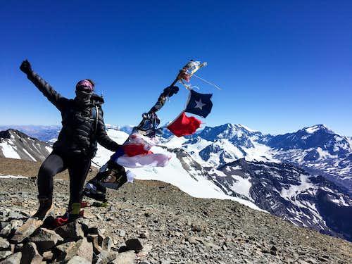 Summit Cerro El Plomo